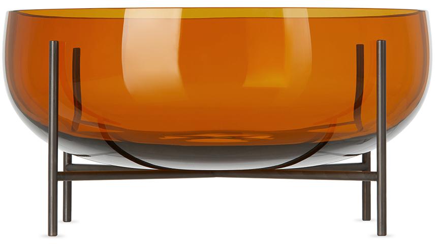 Orange Large Échasse Bowl