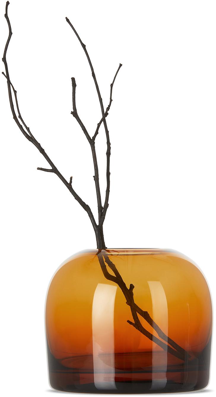 Orange Medium Troll Vase