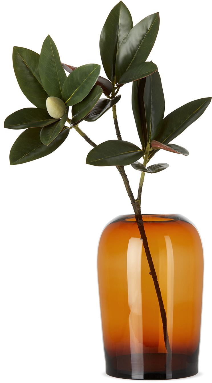 Orange Extra Large Troll Vase