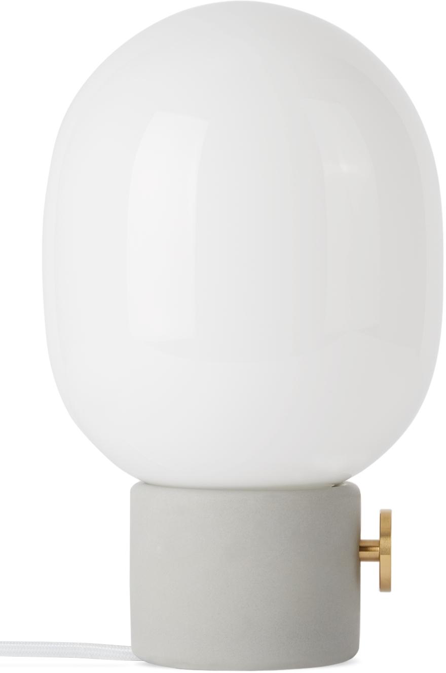 Grey JWDA Table Lamp