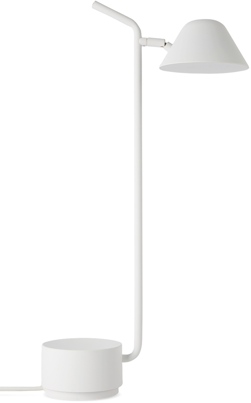 White Peek Table Lamp