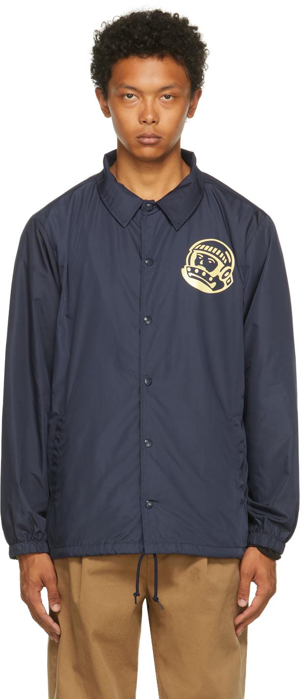 Navy Astro Coach Jacket