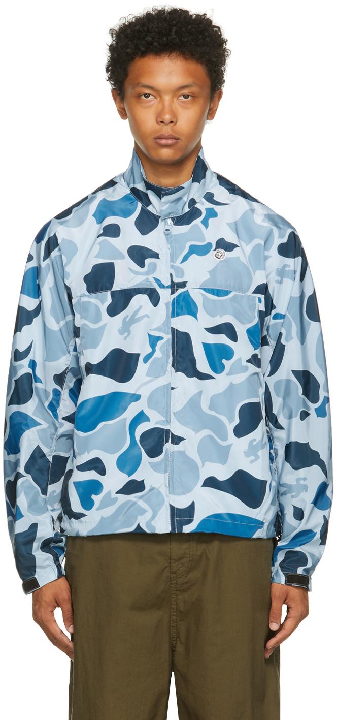 Blue Camo Lightweight Jacket