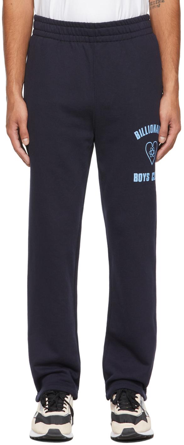 Navy Heart Logo Lounge Pants