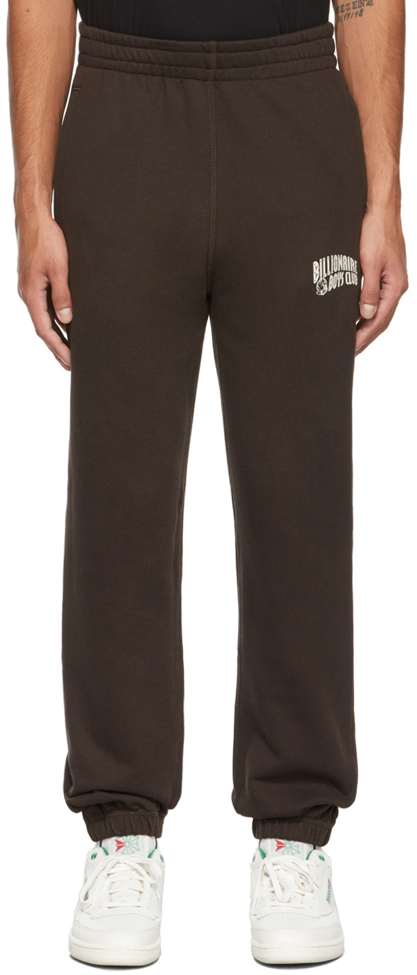 Brown Small Arch Logo Lounge Pants