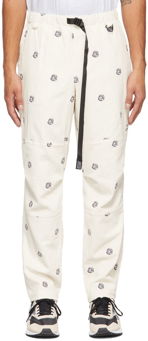 Off-White Corduroy Climbing Trousers