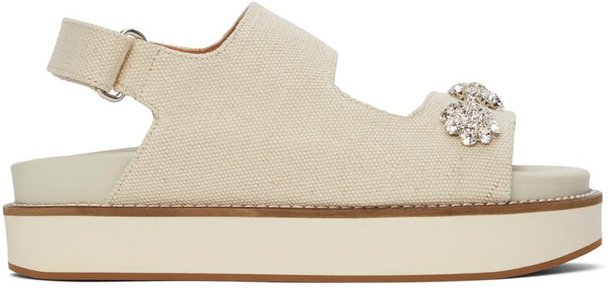Off-White Juta Deco Mid Sandals