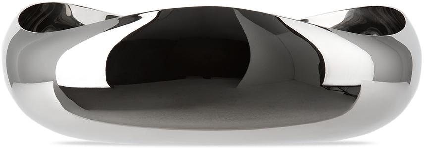 Silver Medium Cobra Serving Bowl