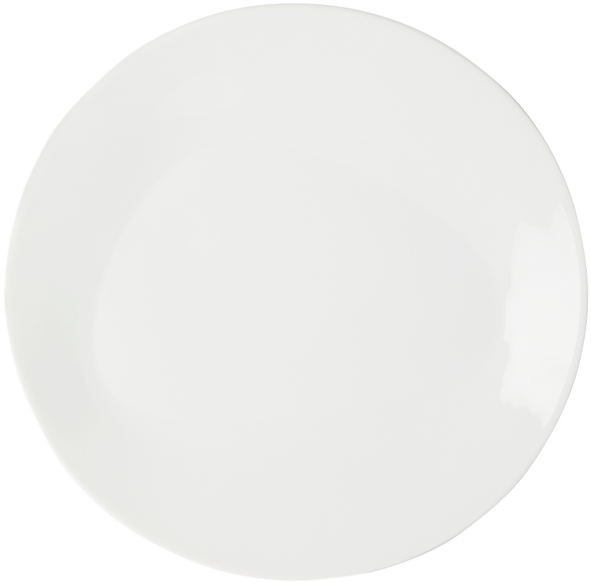 Four-Pack White Sky Lunch Plates
