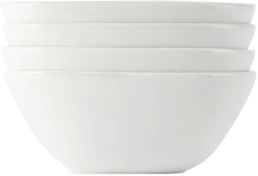 Four-Pack White Sky Bowls