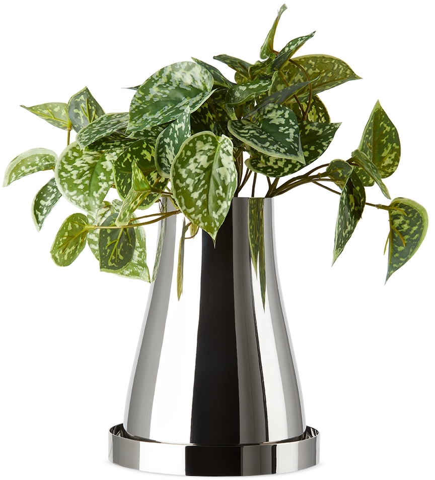 Silver Terra Edition Reversible Small Planter