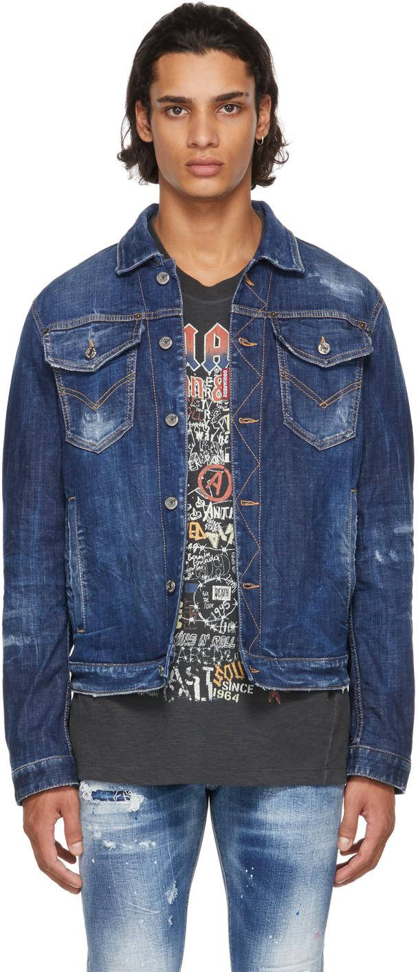 Blue Denim Dan Jacket