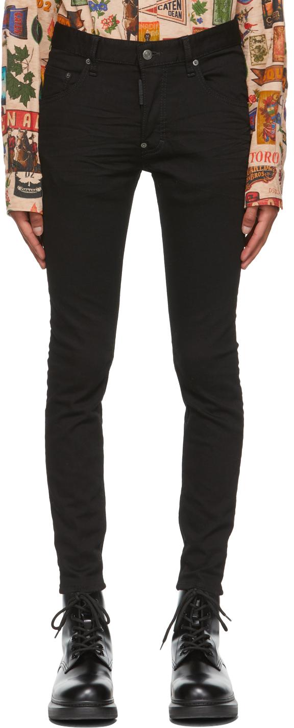 Black Skater Jeans