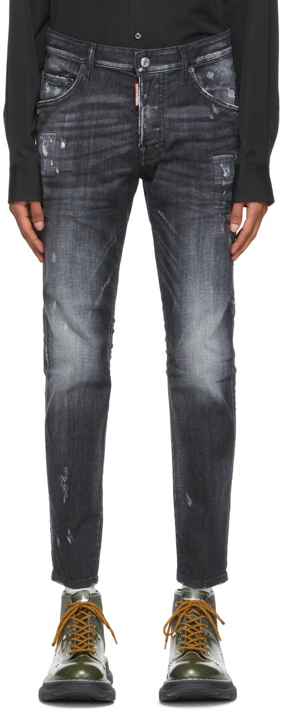 Black Wash Skater Jeans