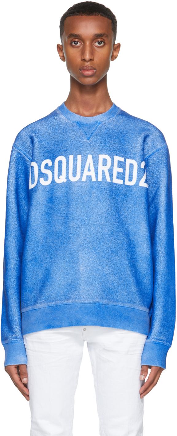Blue Airbrush Cool Sweatshirt
