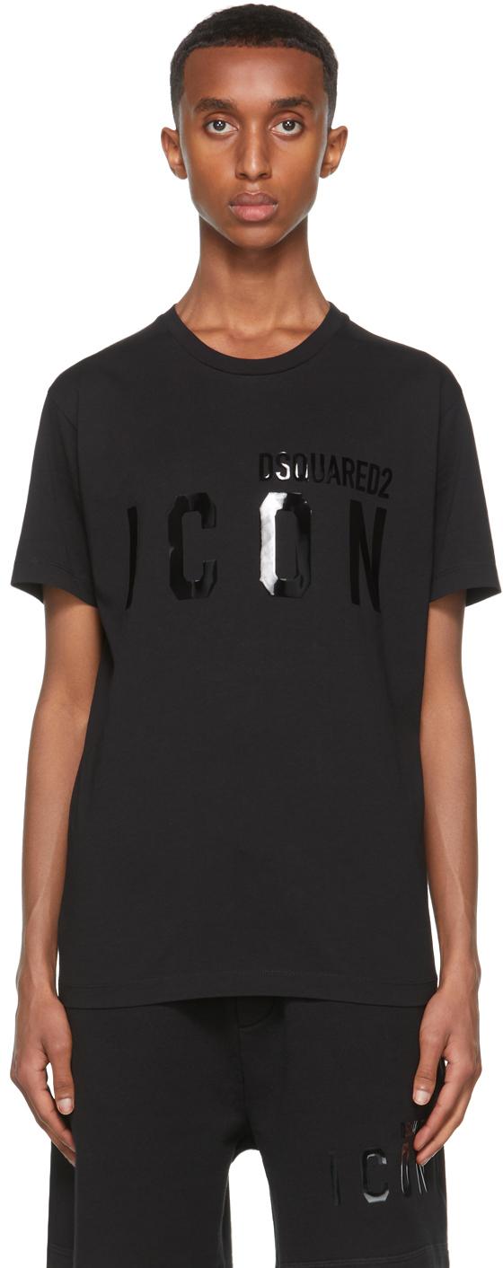 Black Monotone 'Icon' T-Shirt