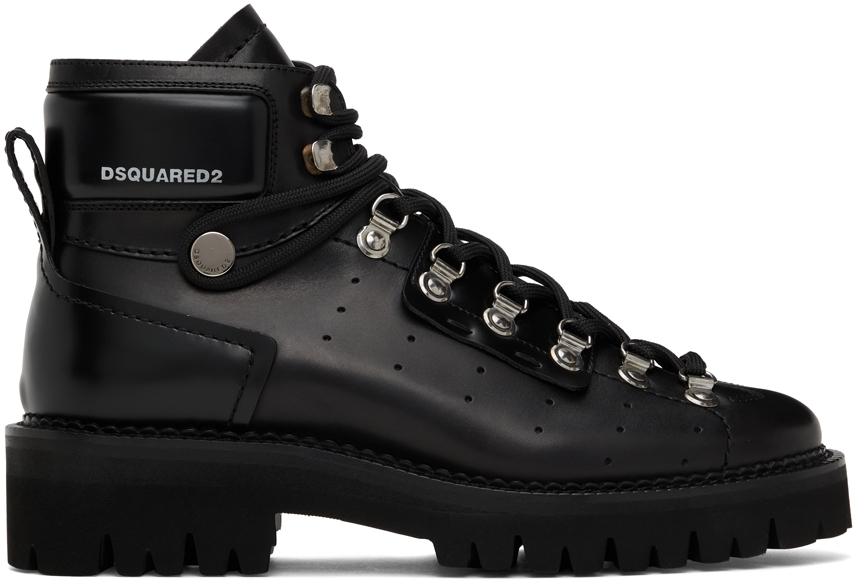 Black Tank Hiking Boots