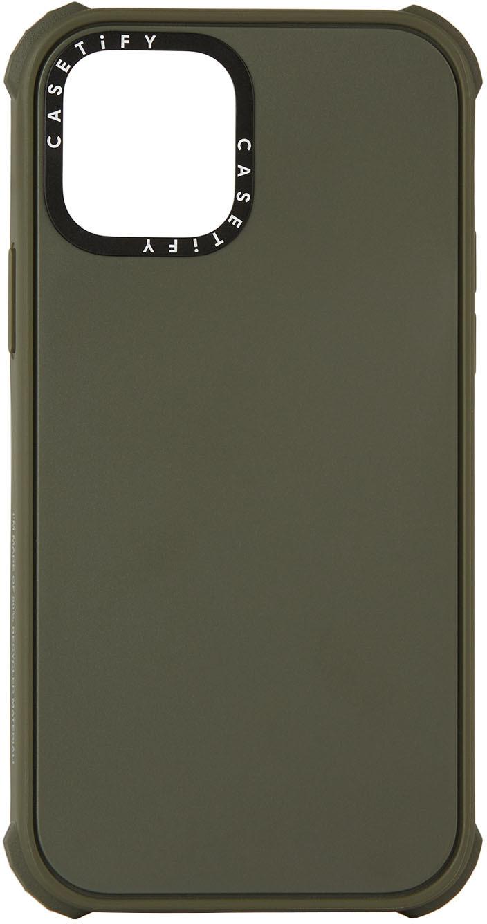 Khaki Ultra Impact iPhone 12 Pro Case