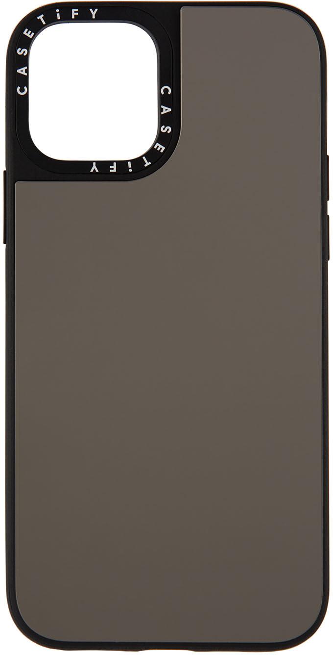 Silver Mirror iPhone 12 Pro Case