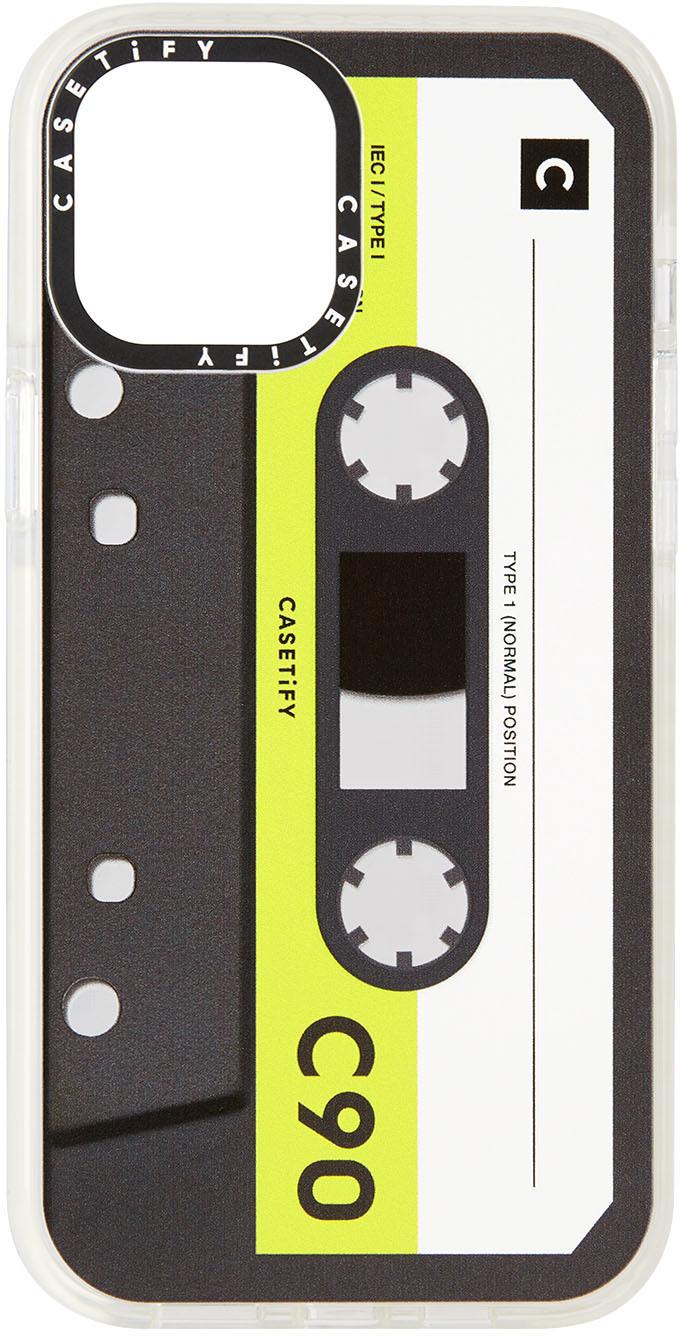 Black & Green Cassette Impact iPhone 12 Pro Max Case