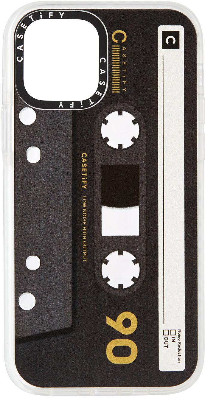 Black & Tan Cassette Impact iPhone 12 Pro Case