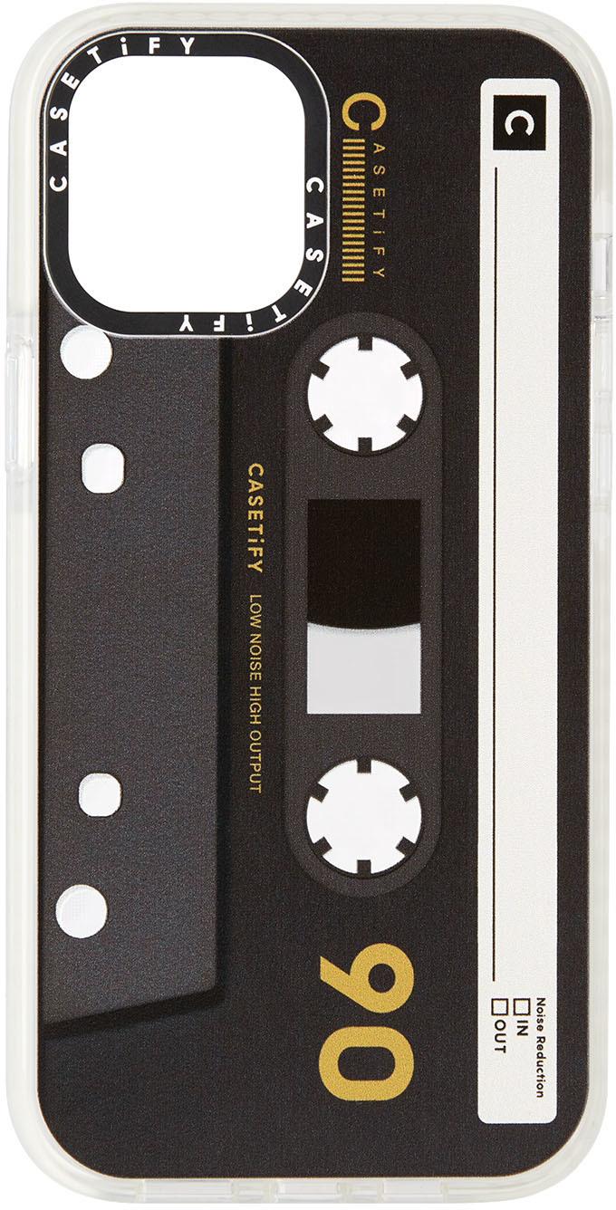 Black & Brown Cassette Impact iPhone 12 Pro Max Case