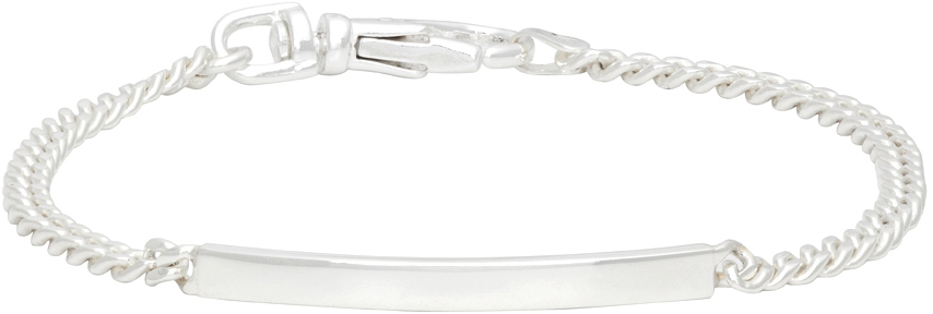 Silver Mini ID Bracelet