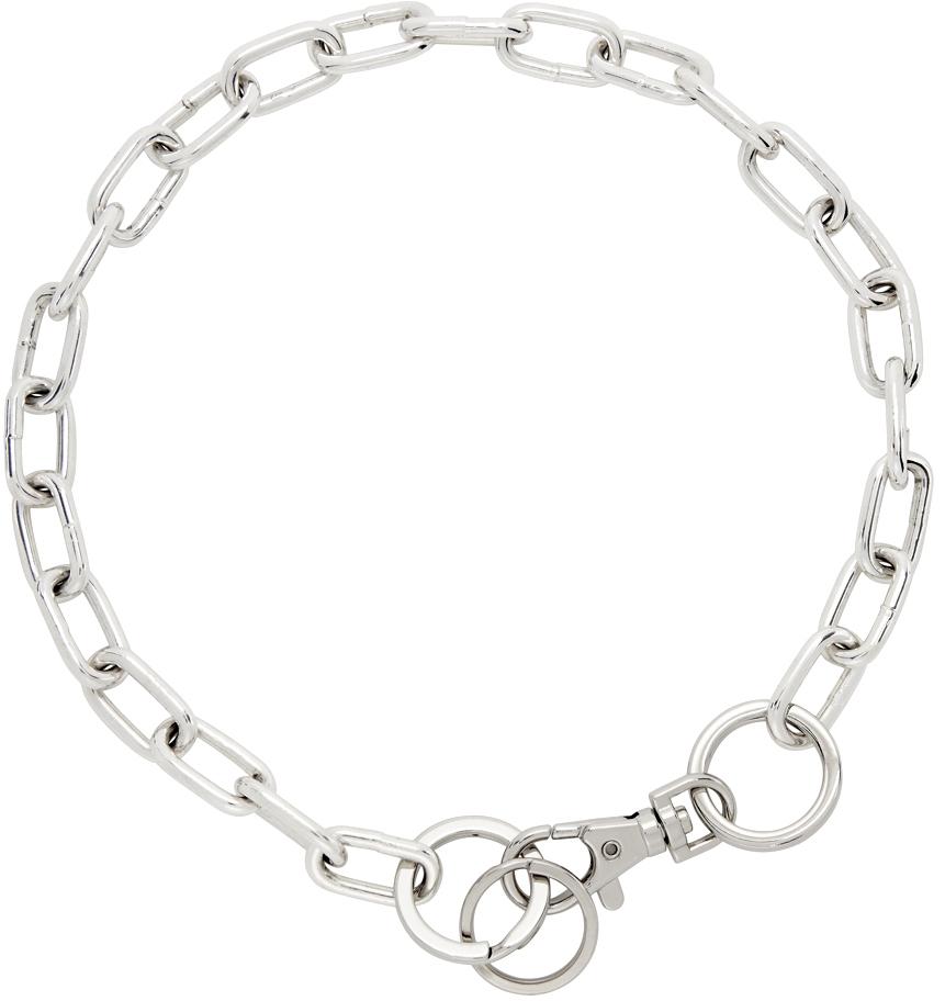 SSENSE Exclusive Silver Gunnar 2.0 Necklace