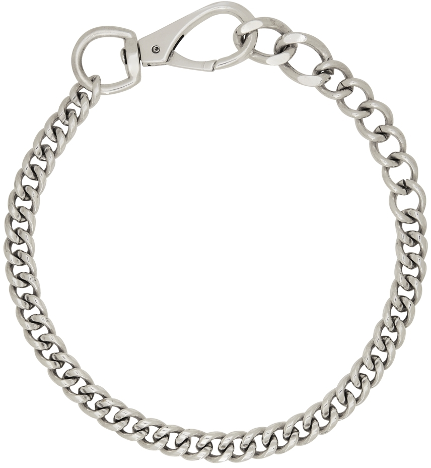 SSENSE Exclusive Silver Casey Necklace