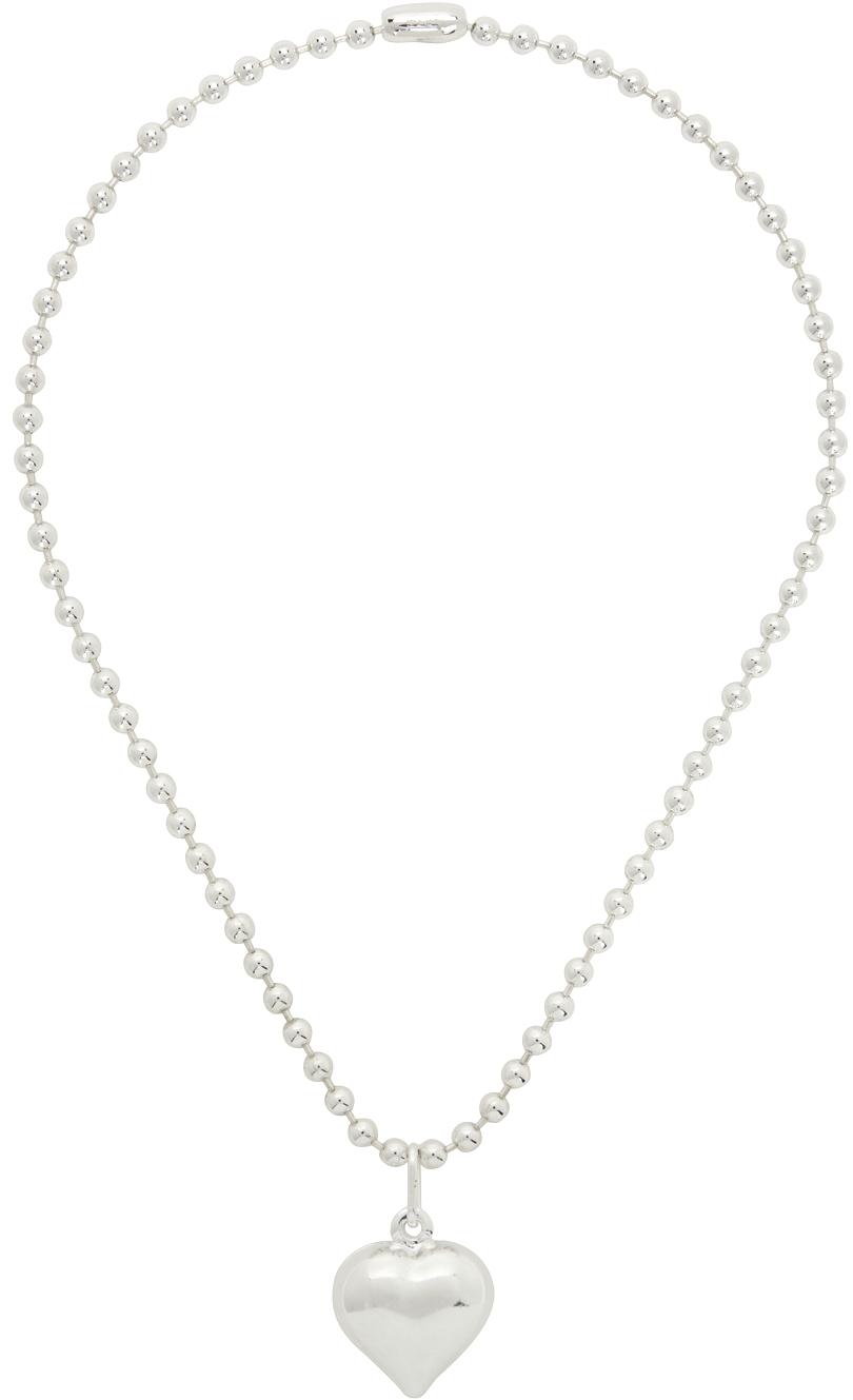 Silver Averi Love Necklace