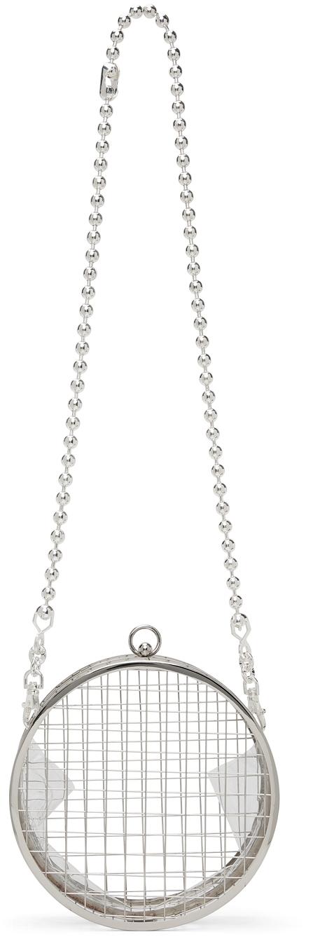 Silver Dianne Side Bag