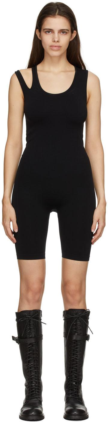 Black Slash Jumpsuit