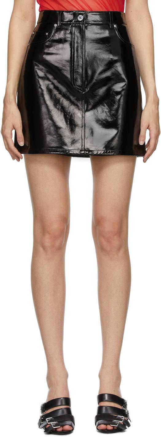 Black 5-Pocket Skirt