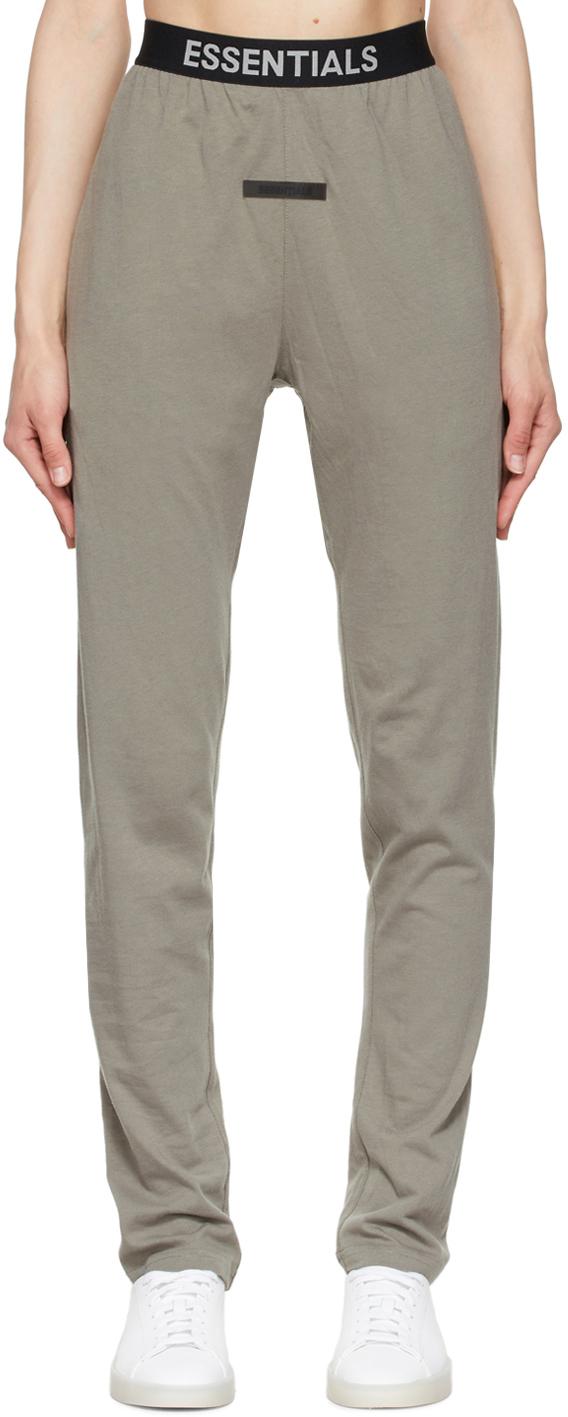 Grey Logo Lounge Pants