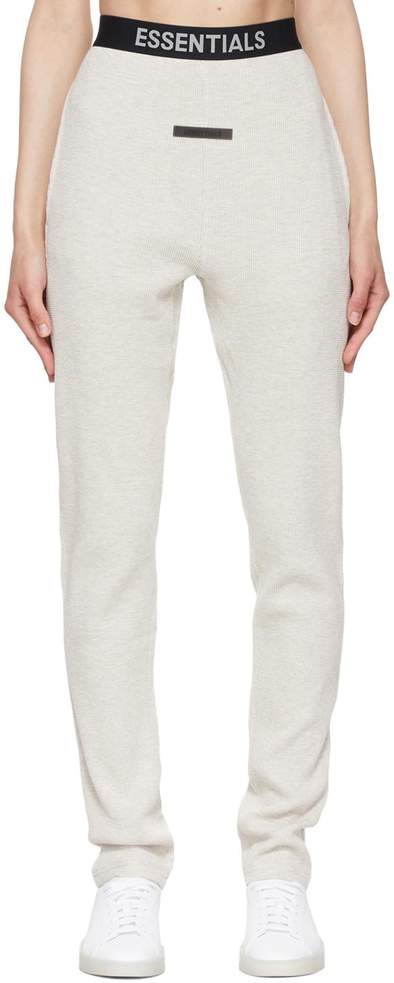 Off-White Thermal Waffle Logo Lounge Pants
