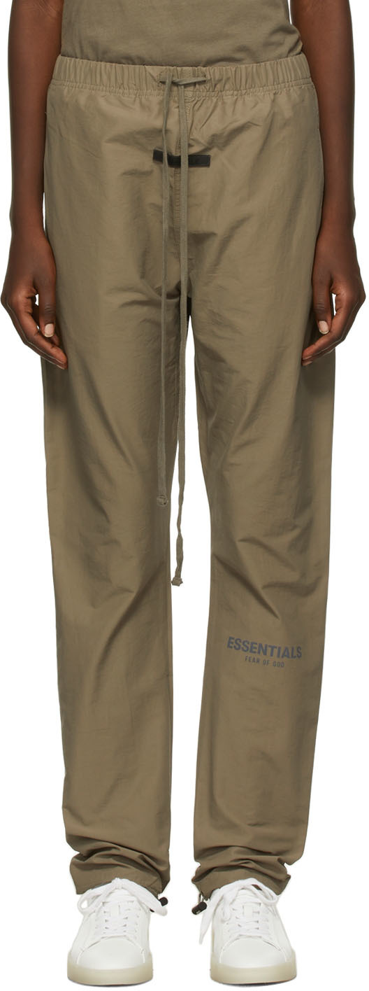Taupe Track Lounge Pants