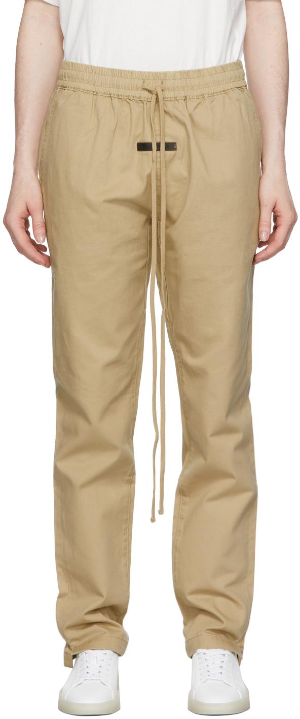 Khaki Twill Trousers