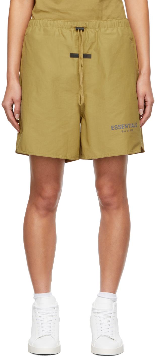 Khaki Volley Shorts