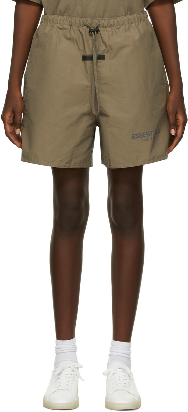 Taupe Volley Shorts