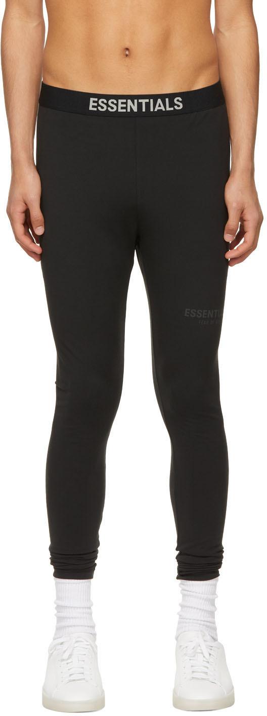 Essentials Black Athletic Leggings