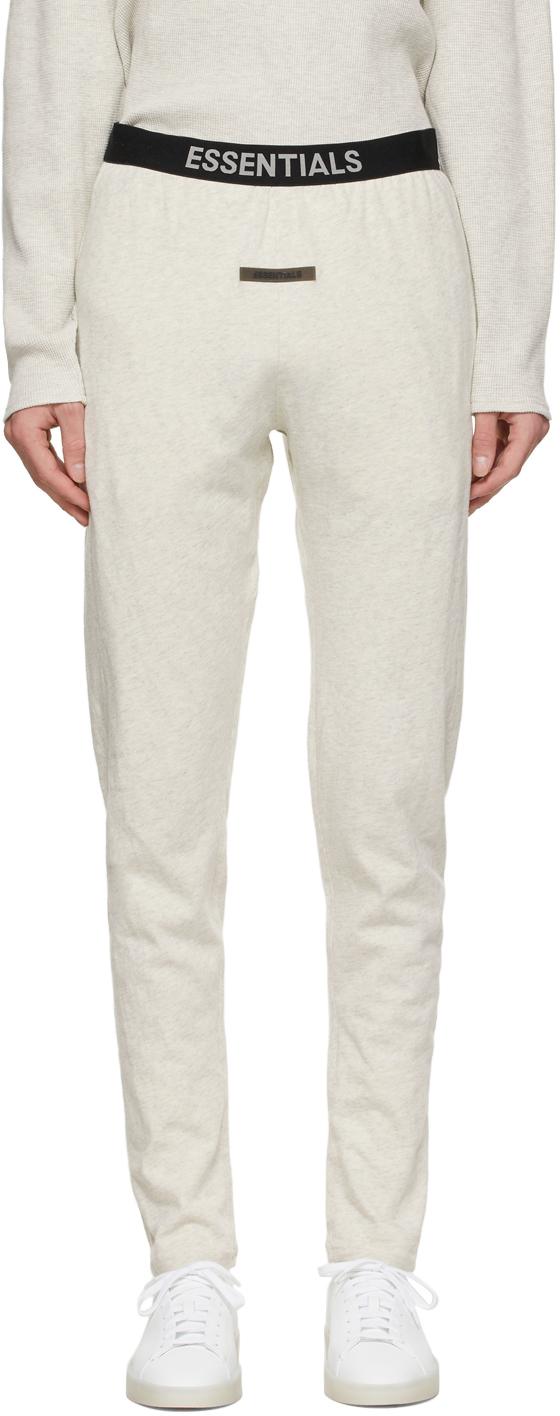 Essentials Off-White Logo Lounge Pants