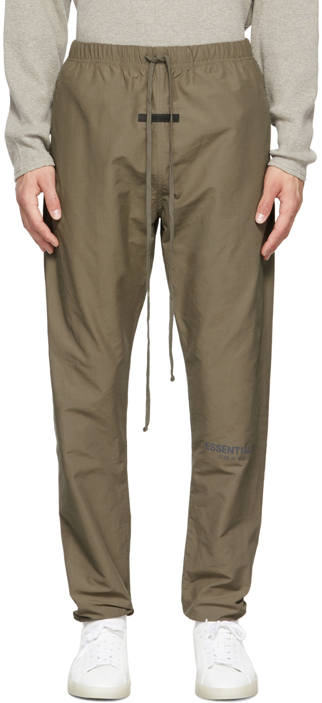 Essentials Taupe Track Lounge Pants