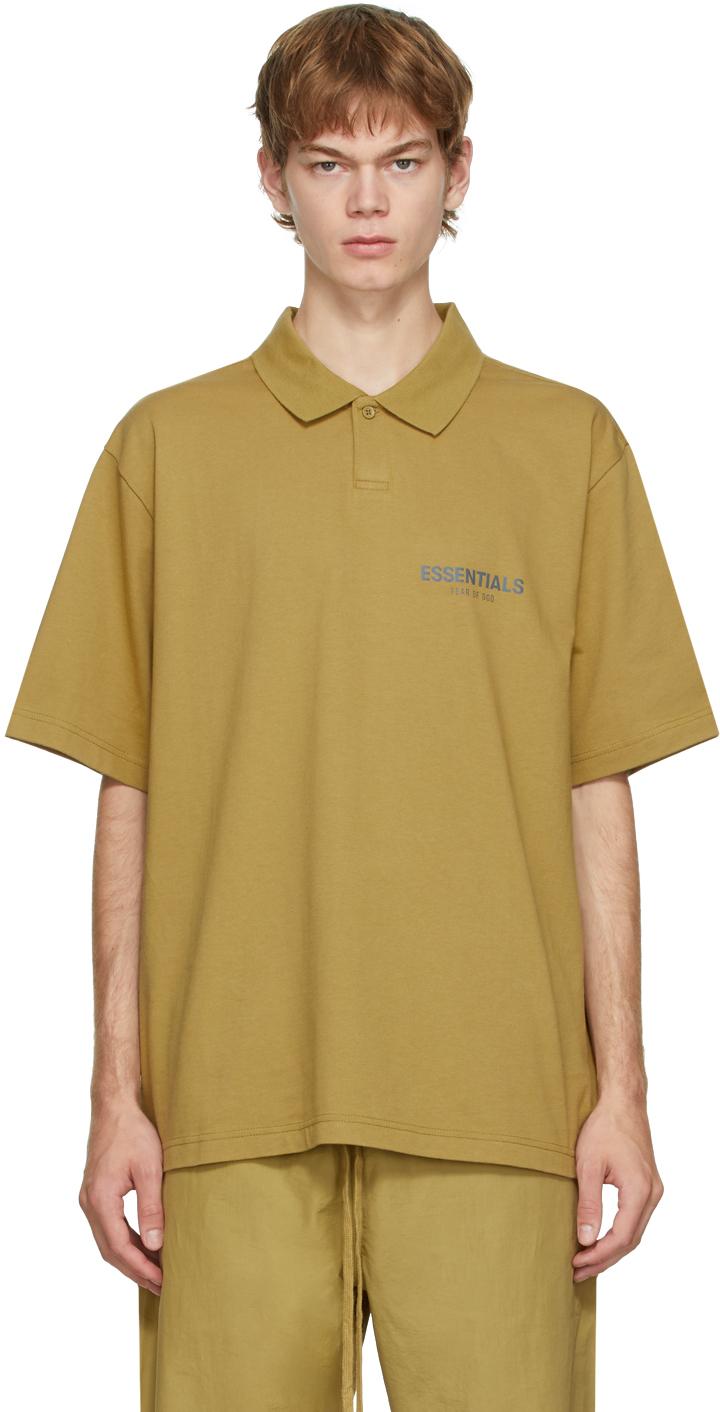 Essentials Khaki Jersey Polo