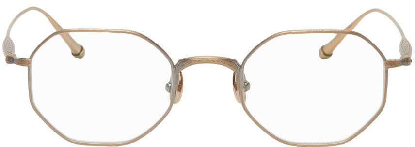 Gold M3086 Glasses