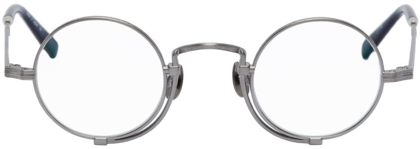 Silver & Navy 10103H Glasses