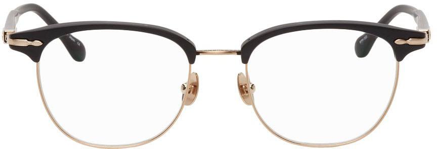 Black & Gold M2048 Glasses