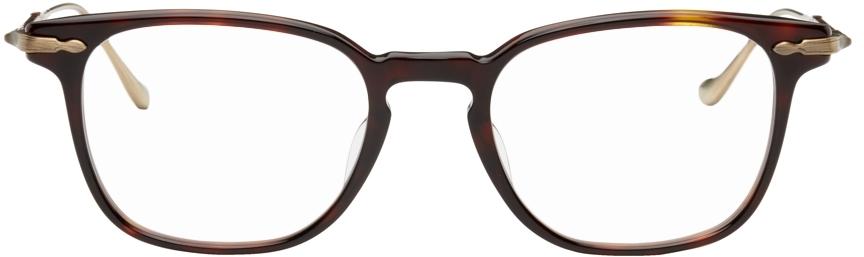 Tortoiseshell & Gold M2052 Glasses