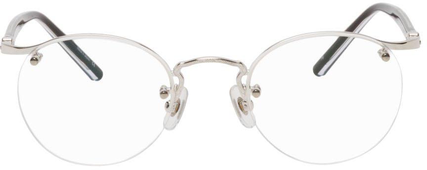 Silver M3107 Glasses