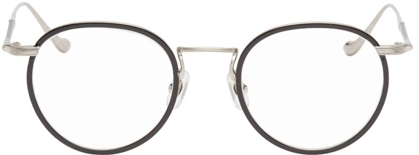 Black & Silver M3058 Glasses