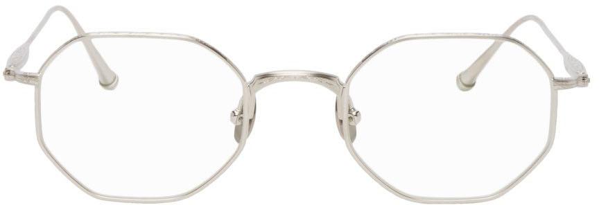 Silver M3086 Glasses